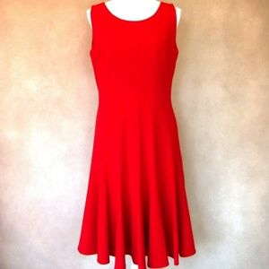 Beautiful Calvin Klein Red Dress Size 12